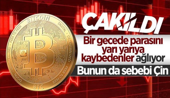 Bitcoin 30 bin doların altına düştü