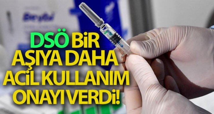 DSÖ'den Sinopharm aşısına acil kullanım onayı!