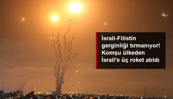 İsrail-Filistin gerginliği tırmanıyor! Lübnan'dan İsrail'e üç roket atıldı