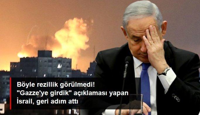 """İsrail ordusu """"Gazze'ye kara harekatı başlattık"""" açıklamasından geri adım attı: Teyit edemeyiz"""