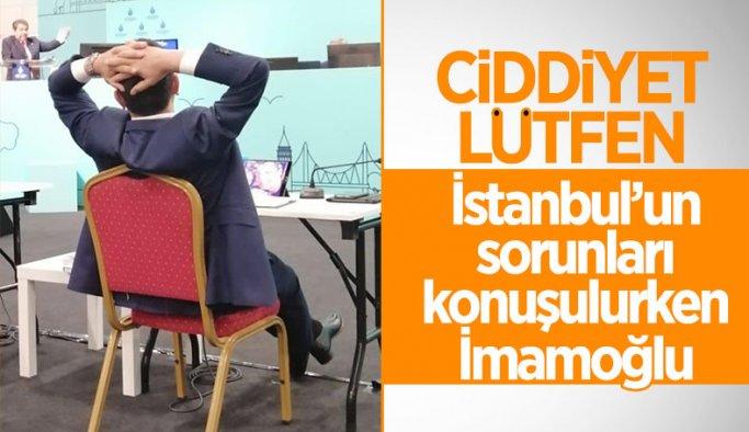 İstanbul'un sorunları konuşulurken Ekrem İmamoğlu'nun dikkat çeken 'rahatlığı'