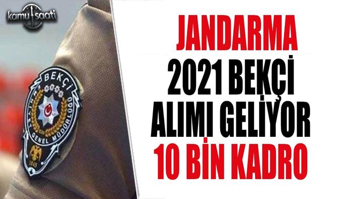 Jandarma Bekçi Alımı 2021 Ne Zaman Yapılacak?