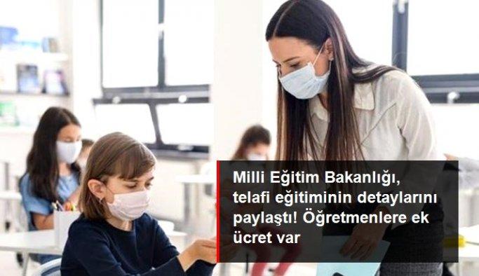 Milli Eğitim Bakanlığı, telafi eğitiminin detaylarını paylaştı! Öğretmenlere ek ders ücreti verilecek
