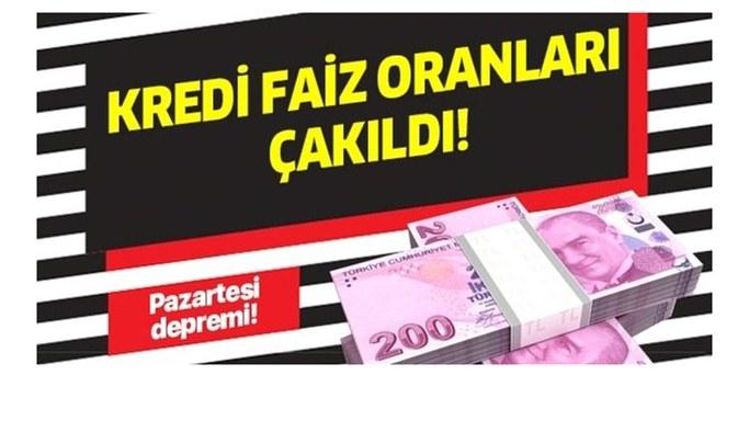 Tek tek duyurdu! Faizler... Ziraat bankası, Vakıfbank, Halkbank bayram kredisi kampanyaları! Hemen 3 ay ertelemeli 50.000 TL...