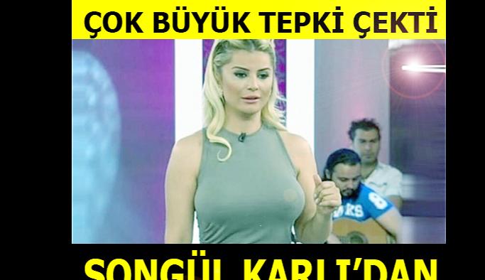Ünlü Türkücü Songül Karlı'dan Beklenmedik Davranış