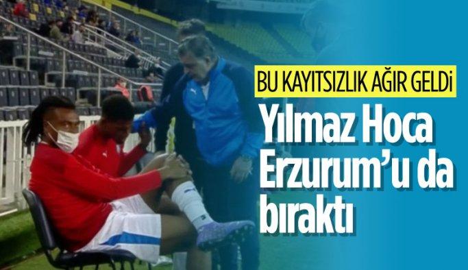 Yılmaz Vural Erzurumspor'dan ayrıldı