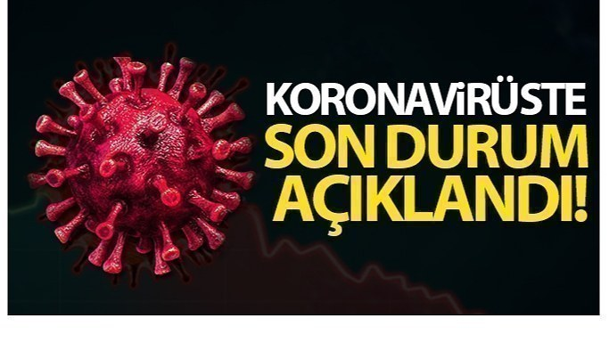 13 Haziran Pazar Korona virüs Tablosu, bugün ki sonuçlar şaşırttı!