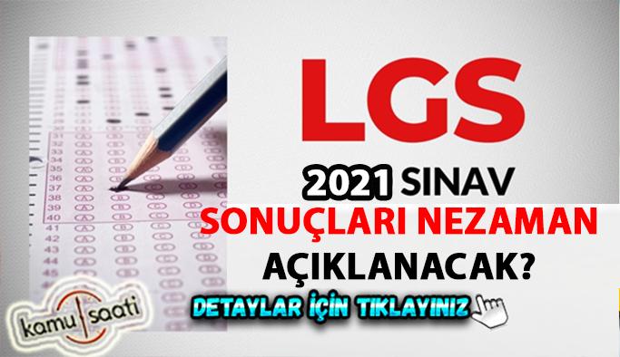 2021 LGS sınav sonucu ne zaman açıklanacak? LGS soruları ve cevap anahtarı yayınlandı mı? 2021 MEB LGS cevap anahtarı ile sınav soruları...
