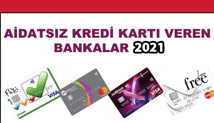 Aidatsız kredi kartı veren bankalar ve Aidatsız kredi kartlarının özellikleri