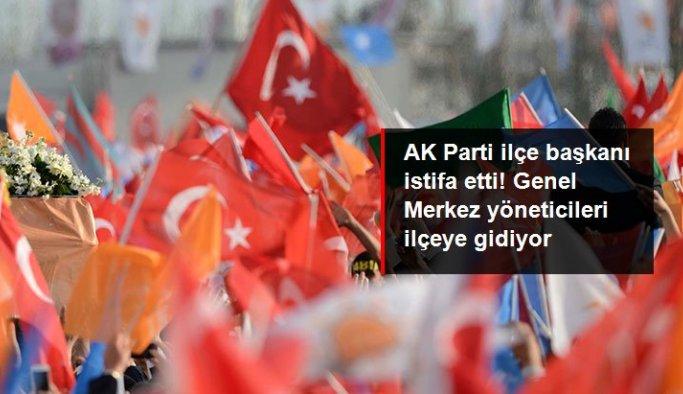 AK Parti Yomra İlçe Başkanı Avni Adanur istifa etti