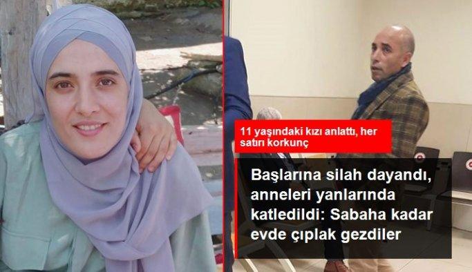 Başlarına silah dayandı, anneleri gözlerinin önünde öldürüldü: Sabaha kadar evde çıplak gezdiler, anneme ne yaptılar bilmiyorum