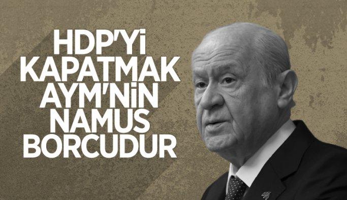 Devlet Bahçeli: HDP'nin kapatılması artık hukukun konusudur