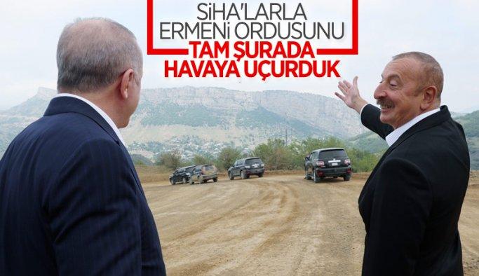 Dünya Lideri Cumhurbaşkanımız Erdoğan ile Aliyev Şuşa'da