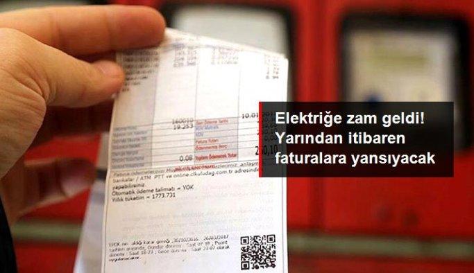 Elektriğe 1 Temmuz'dan itibaren yüzde 15 zam
