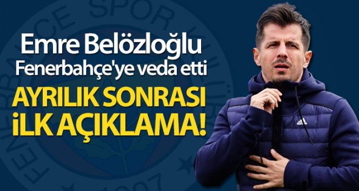 Emre Belözoğlu, Fenerbahçe'den ayrıldı