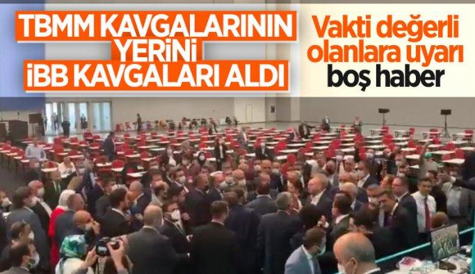 İBB Meclis'te CHP'nin 15 Temmuz iddiası gerginliğe neden oldu
