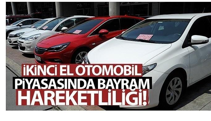 İkinci el otomobil piyasasında bayram hareketliliği başladı