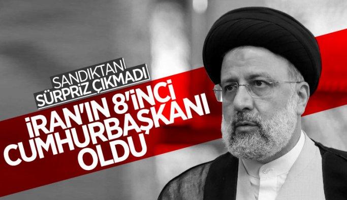İran'ın 8. Cumhurbaşkanı İbrahim Reisi oldu
