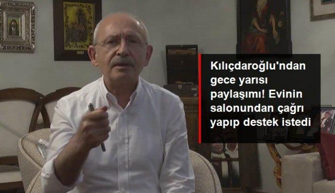 Kılıçdaroğlu'ndan gece yarısı paylaşımı: Her yerde erken seçim isteyeceğim, bana katılın