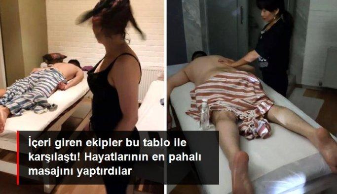 Kısıtlama saatinde masaj yaptırırken yakalandılar: 19 bin TL ceza