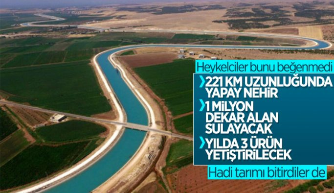 Mardin-Ceylanpınar Ana Kanalı tamamlandı