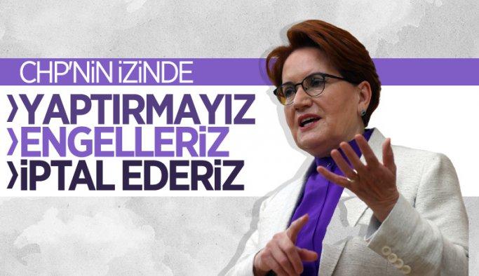 Meral Akşener: Kanal İstanbul için 1 kuruş ödemeyeceğiz