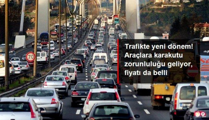 Trafikte yeni dönem! Mayıs 2022'den itibaren araçlara karakutu zorunluluğu geliyor