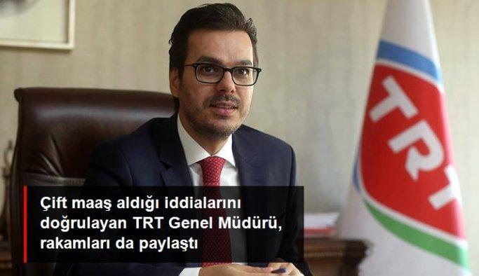 TRT Genel Müdürü çift maaş iddialarını doğruladı: TRT'den 15.000, Türksat'tan 14.500 lira alıyorum