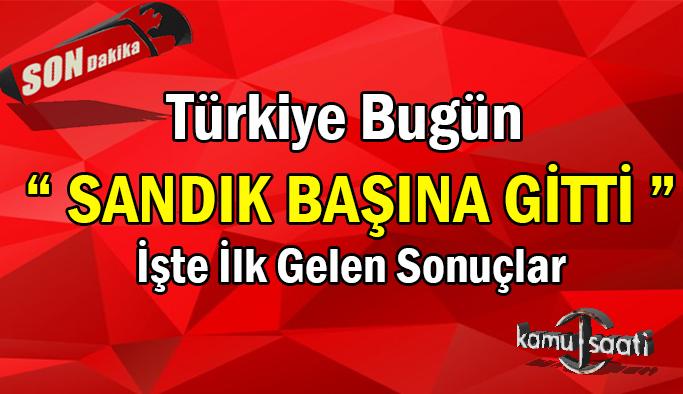 Türkiye'de Bugün 765 farklı yerde seçim var (Sandığa giden kısıtlamadan muaf)