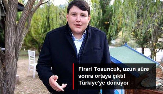 """Uzun süredir firari olan """"Tosuncuk"""" lakaplı Mehmet Aydın Teslim olacak"""