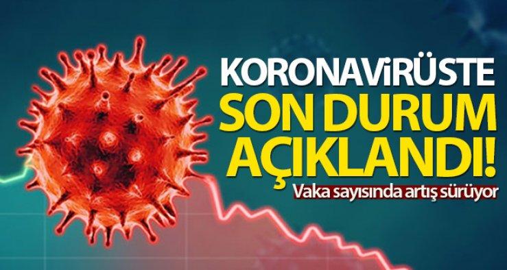 1 Ağustos Pazar Koronavirüs Tablosu bakan Koca Açıkladı