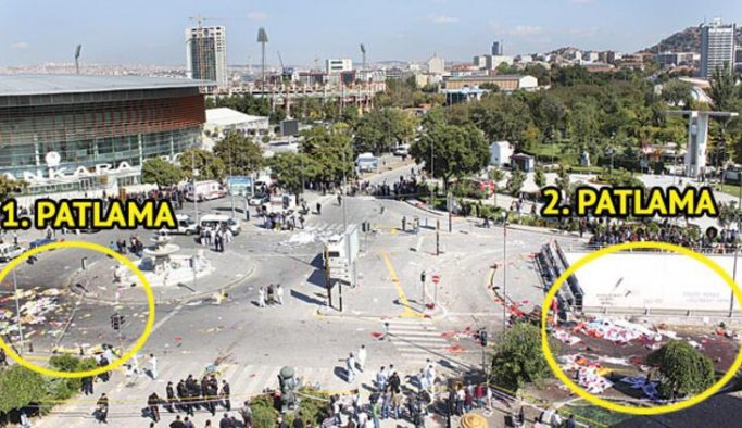 Ankara'da patlama: 2 kişi yaralandı
