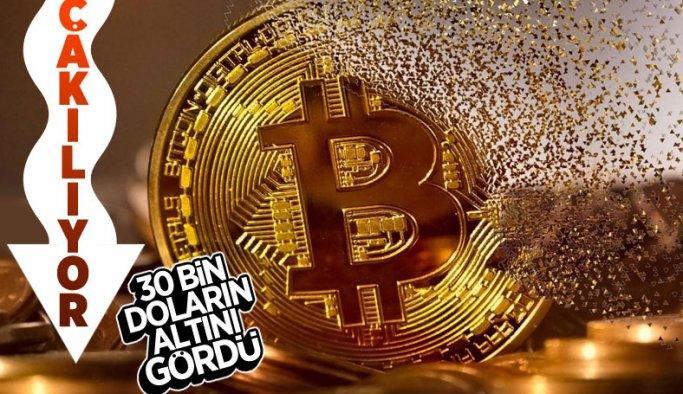 Bitcoin, 30 bin doların altını gördü
