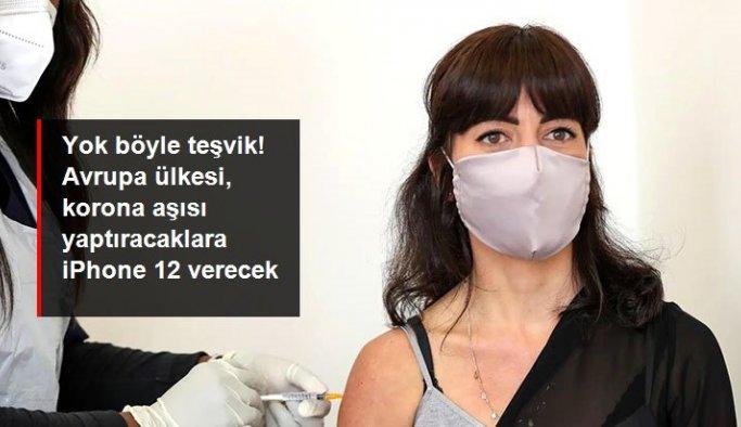 Çekya'da koronavirüs aşısı yaptıracaklara iPhone 12 verilecek