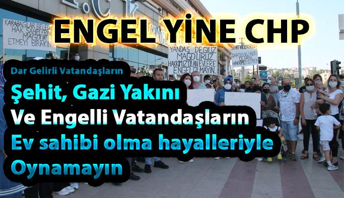 CHP'li Selvitopu, TOKİ konutlarının planlarını iptal ettirdi, hak sahipleri isyan etti