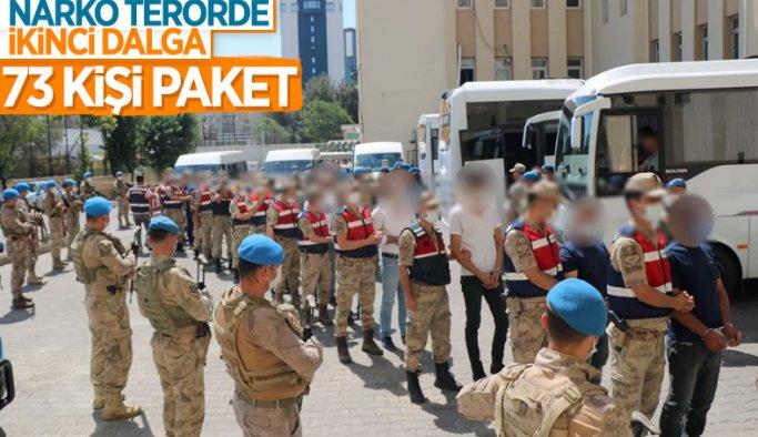 Diyarbakır'da narko-terör operasyonu: 73 gözaltı