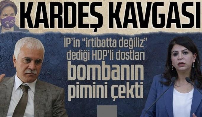 Dostlar arasında derin kavga! HDP'li Sibel Yiğitalp İYİ Partili Koray Aydın'a sert çıktı: Irkçılığınızda boğulun