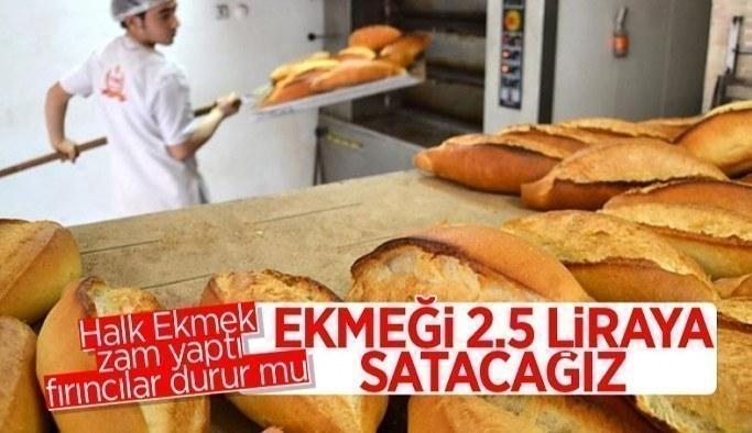 Ekmek üreticilerinden zam açıklaması: İstanbul'da ekmeğimiz 2,5 lira olacak