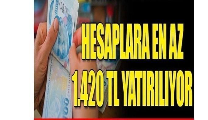 Hesaplara en az 1.420 TL yatırılıyor! Ödemeler 5 Temmuz'da Başvuru İçin Geç Kalmayın
