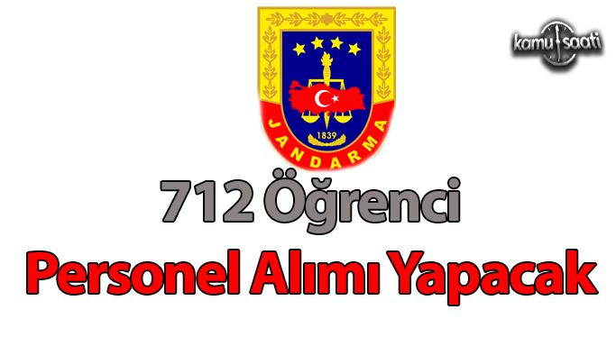 Jandarma Astsubay Meslek Yüksekokulu 712 öğrenci alacak