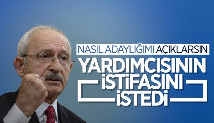 Kemal Kılıçdaroğlu, Bülent Kuşoğlu'nun istifasını istedi