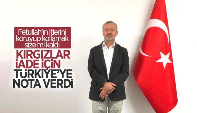 Kırgızistan, FETÖ'cü Orhan İnandı için Türkiye'ye nota verdi