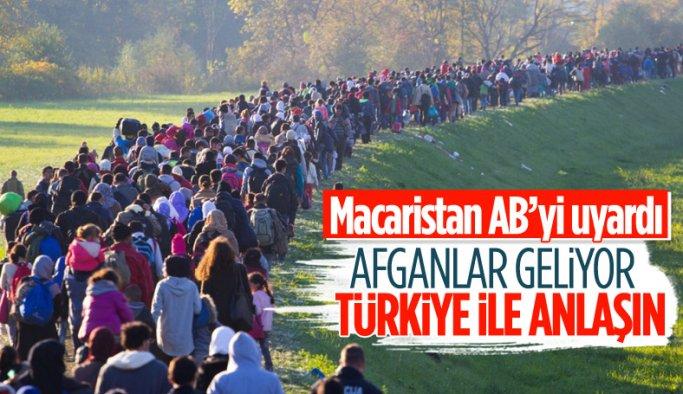 Macaristan'dan AB'ye: Göç sorunlarını çözmek için Türkiye ile anlaşın