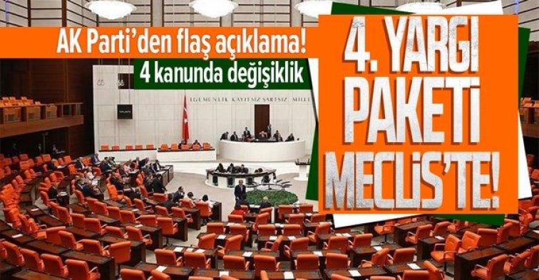 Meclis, 4. Yargı Paketi için mesai yapacak