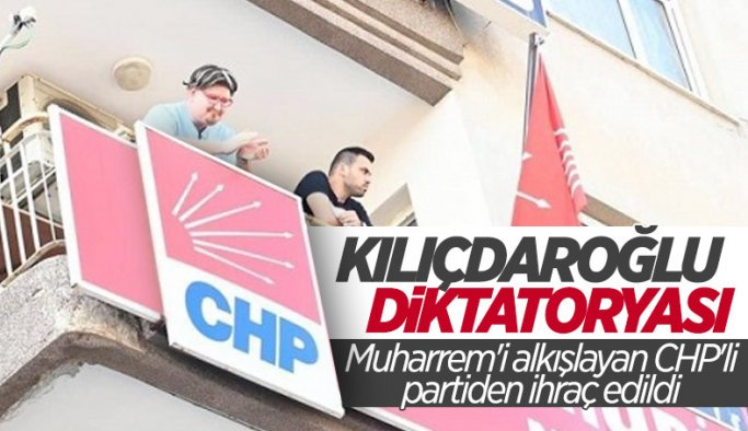 Muharrem İnce'yi alkışlayan CHP'li partiden kovuldu