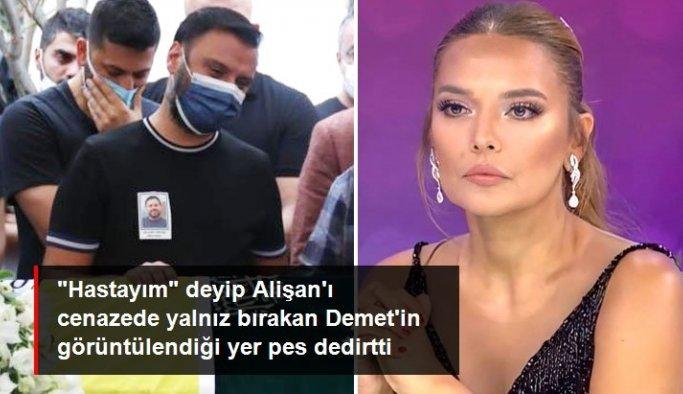 Rahatsızlığından dolayı Alişan'ın kardeşinin cenazesine katılmayan Demet Akalın konsere mi çıktı?
