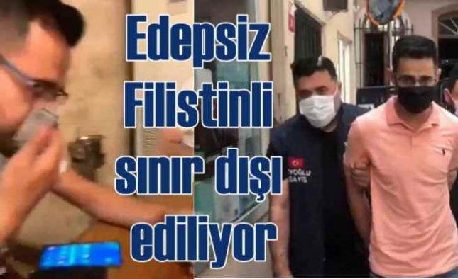 Restoranda Türk Lirası ile burnunu silen turist sınır dışı edildi