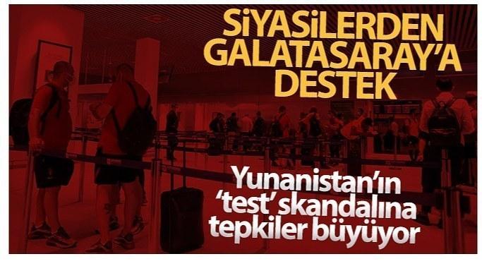 Siyasilerden Galatasaray'a destek mesajları