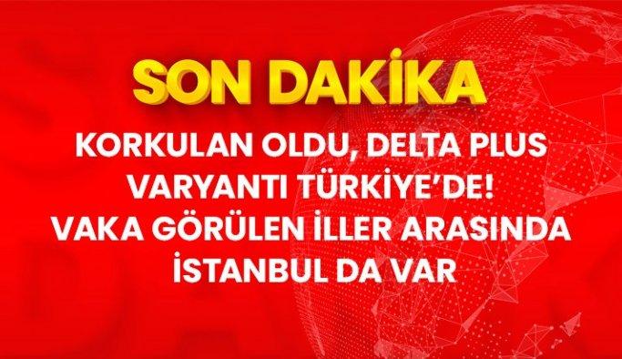 Son Dakika: Delta plus varyantı Türkiye'de! 3 ilde 3 vaka görüldü, bunlardan biri İstanbul'da