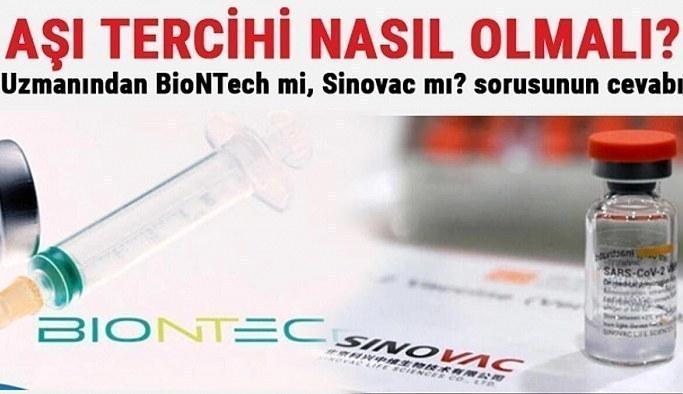 Uzmanlardan 3. doz aşı tavsiyesi: Sinovac mı Biontech mi?